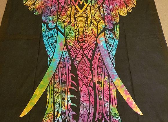 Magestic Elephant(Multicolour)