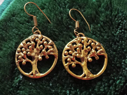 """ Tree of Life"" Earrings"