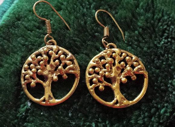 """ Tree of Life"" Earrings"