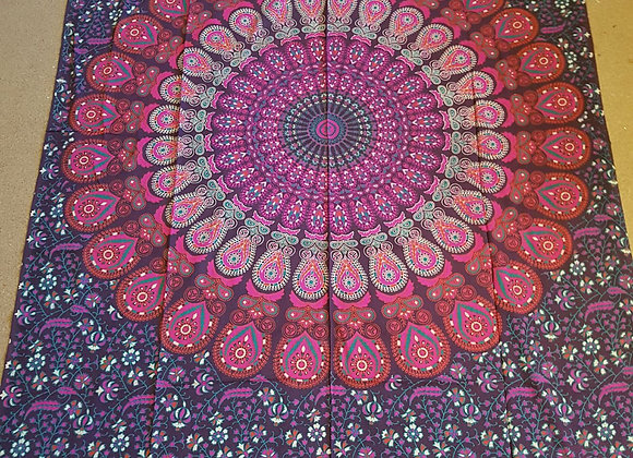 Peacock Mandala(Purple,Pink)