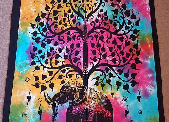 Tree of Life flowering on an Elephant