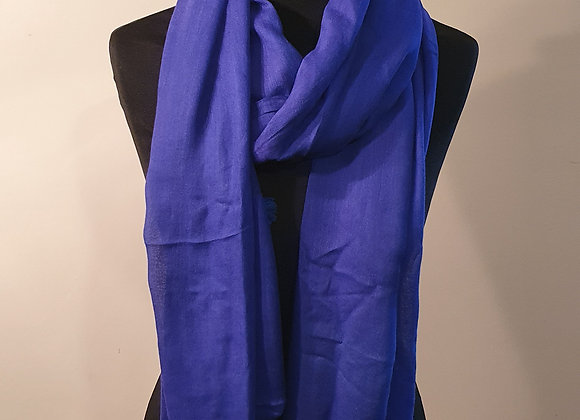 Soft Cotton Stole With Tassels