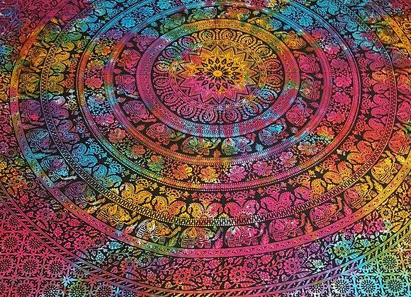 Elephant Mandala(Multicolour)