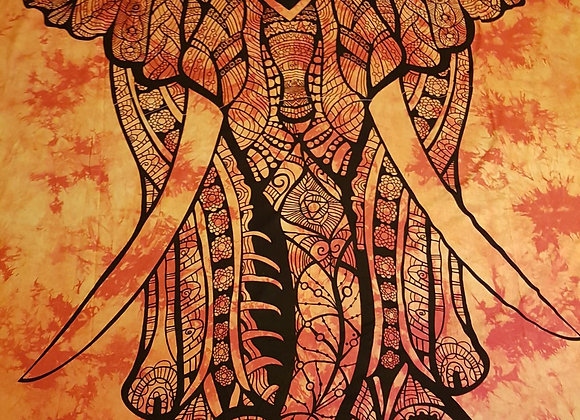 Magestic Elephant (Orange)