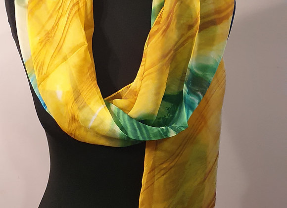 Fine Silky scarf (Multicoloured)