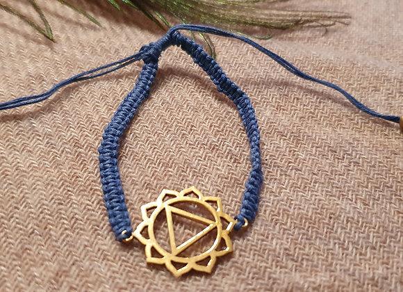 3rd Chakra (Manipura) Solar Plexus  Brass Bracelet