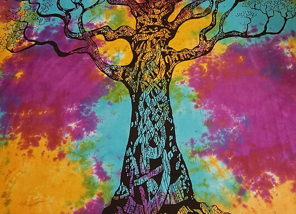 Tree Of Life (Purple,Turquoise,Yellow)