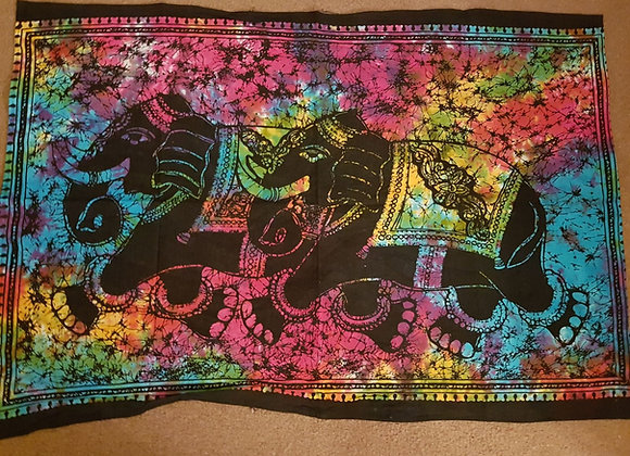 Elephant Couple(Multicolour)