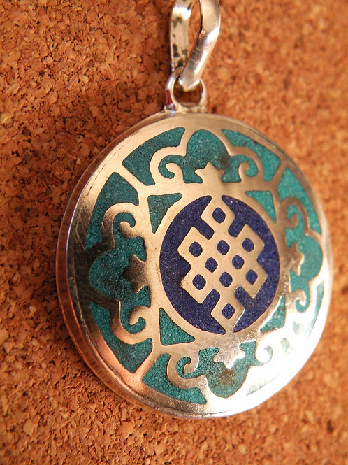 """EternaL Knot"" Pendent Silver Polished"