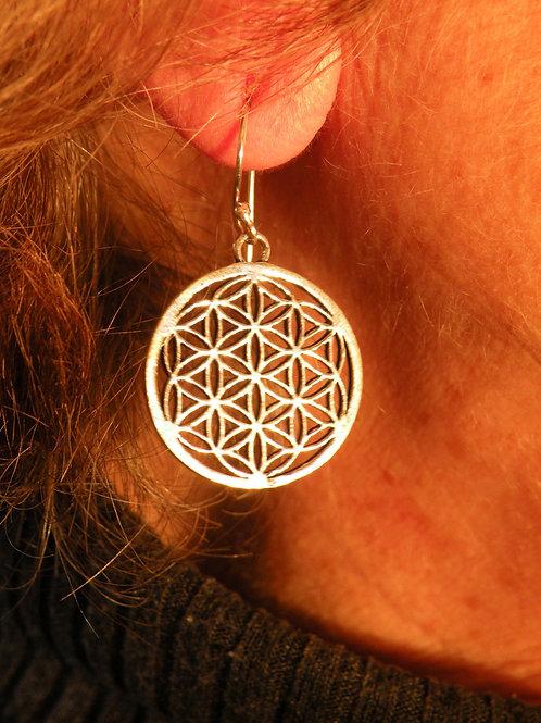 """""""Flower Of Life Earrings"""""""