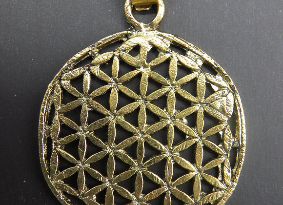 """Flower Of Life"" Brass"