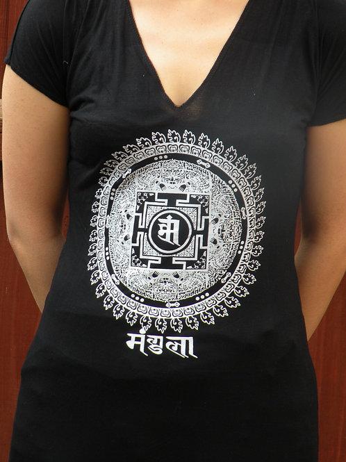Mandala  Whomens T- Shirt