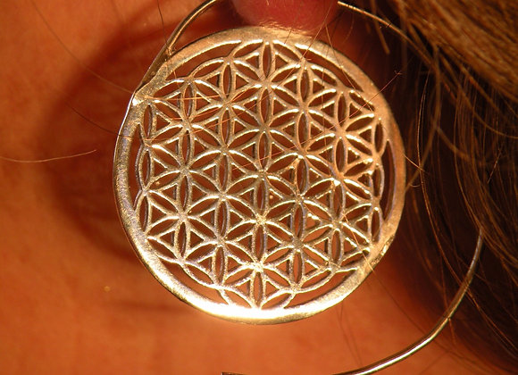 Flower of life (Silver Plated)