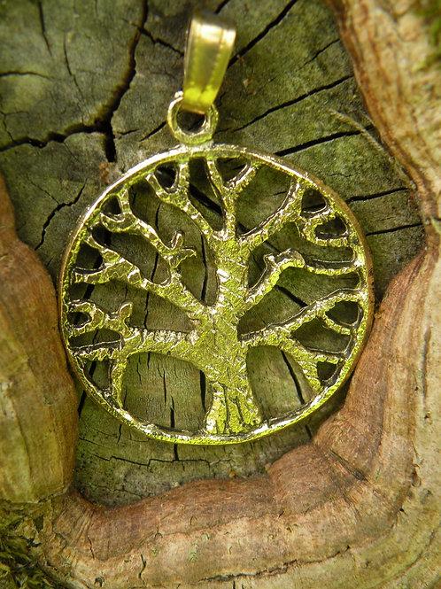 Lovingly Handmade Tree Of Life Brass Polished