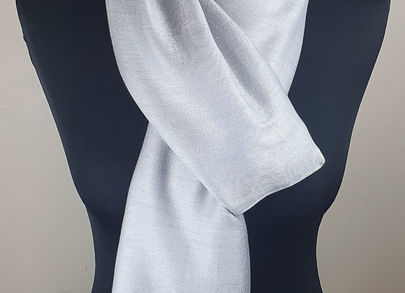 Double Shaded Pashmina In Soft Silver Grey and Grey