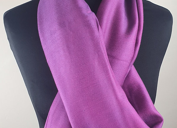 Double Shaded Pashmina In Soft Purple and Pink