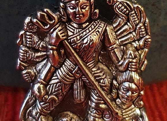 Hand Made Devi Shakti (Durga) Goddess Pendent.