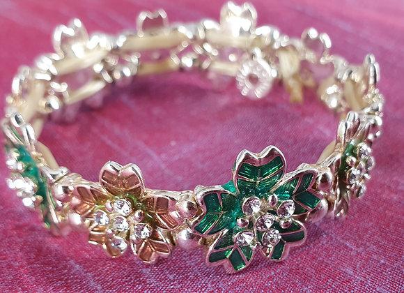 Elascticated Floral Bracelet