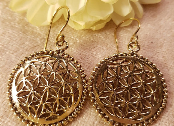 Flower of Life  (Brass)