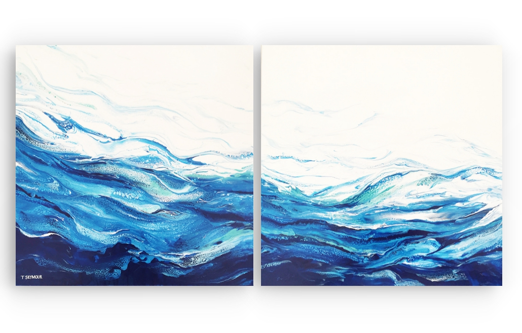 TIDAL FLOW (Diptych)