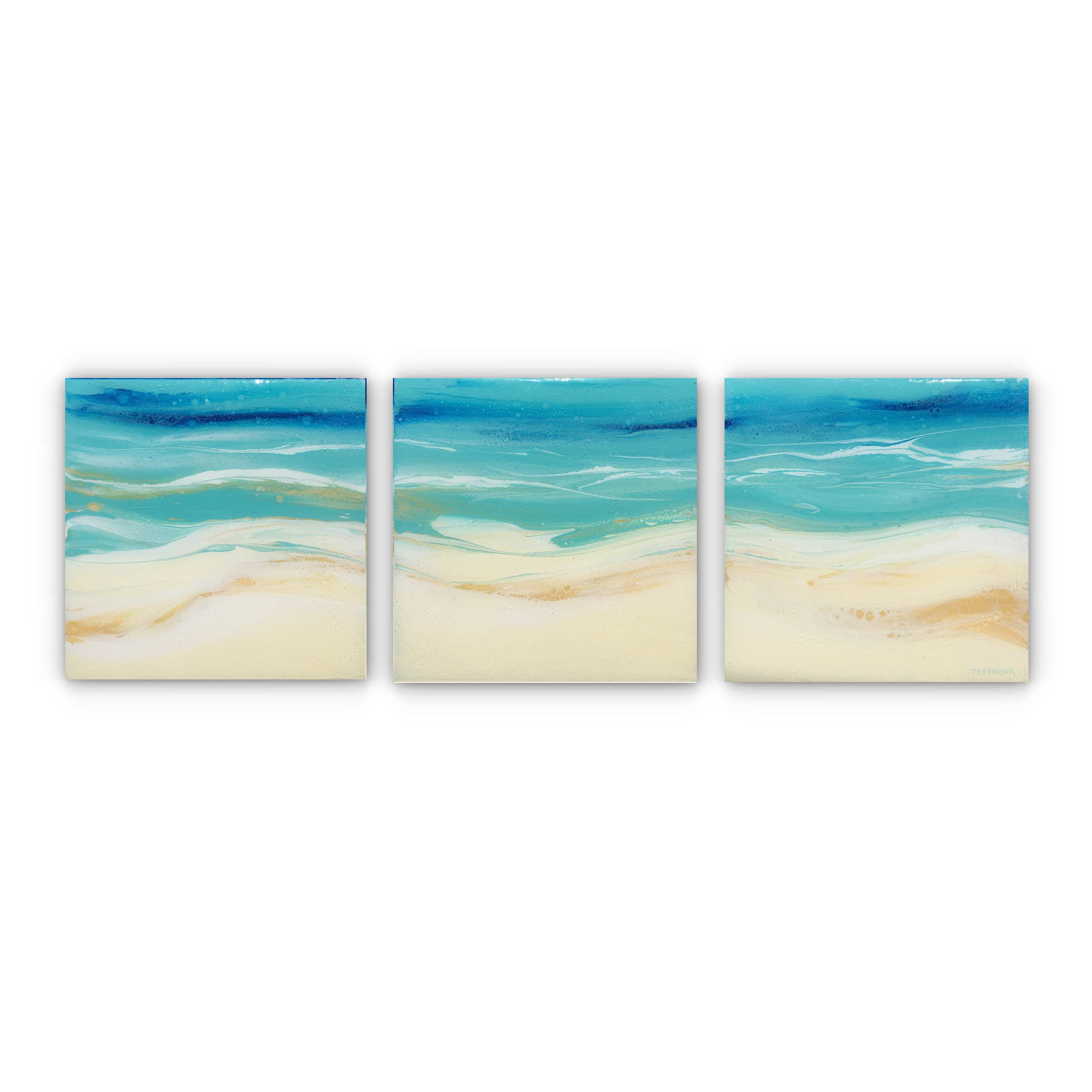 SALTED SEAS (triptych)