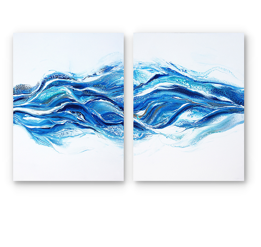 INFINITE FLOW (Diptych)