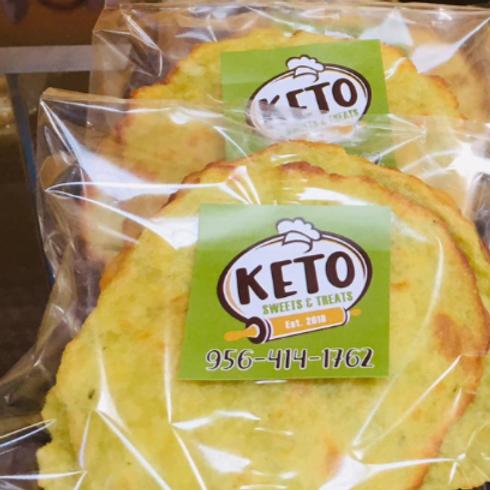 KETO TORTILLAS - 5 PACK