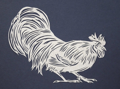 Rooster (crouching)