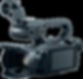 Cámara profesional de videograbación para foro Qiu Live Servicios