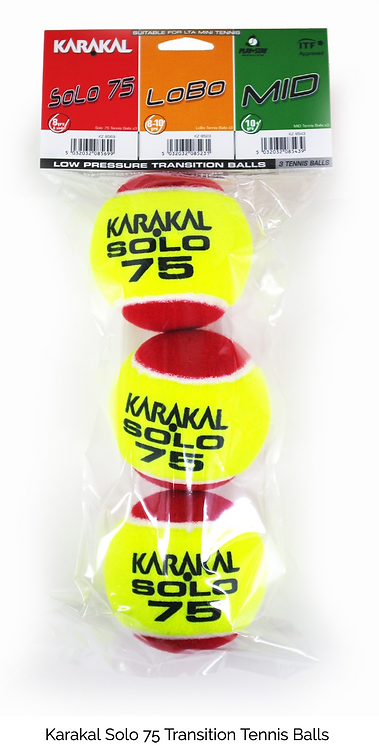 Karakal Solo 75 Junior Tennis Ball