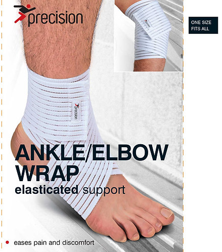 Precision Elasticated Ankle/Elbow Wrap - Universal