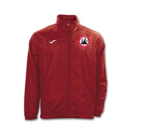 Fairford YFC JUNIOR Rain Jacket (RED)