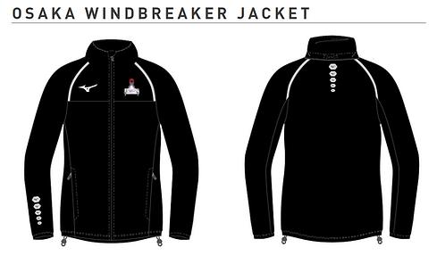 Abingdon Centre Osaka Windbreaker Jacket