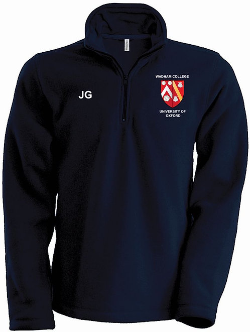 Wadham College Quarter Zip Fleece