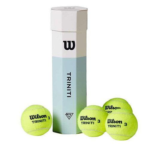 Wilson Trinity 4 Ball Tube