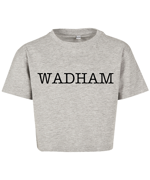 Wadham College Cropped Tee