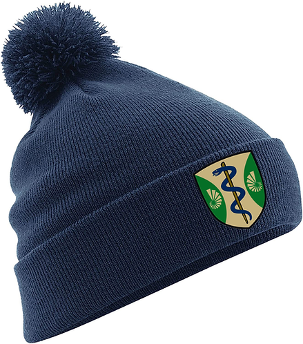 Green Templeton College Winter Bobble Hat