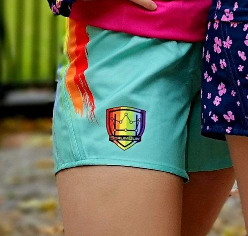 Scrum Bum Pride Shorts
