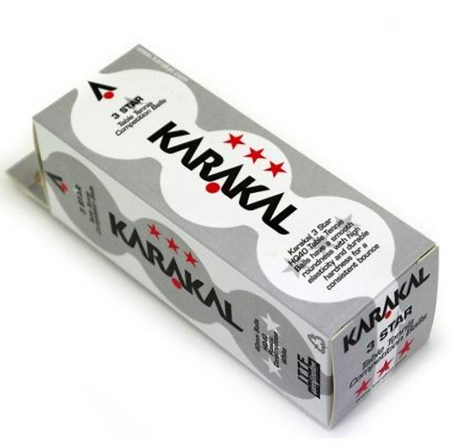 Karakal 3 Star Table Tennis Ball