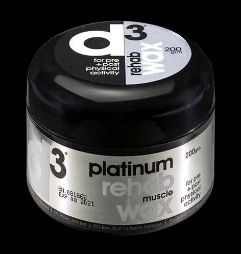 D3 Platinum Rehab Muscle Wax