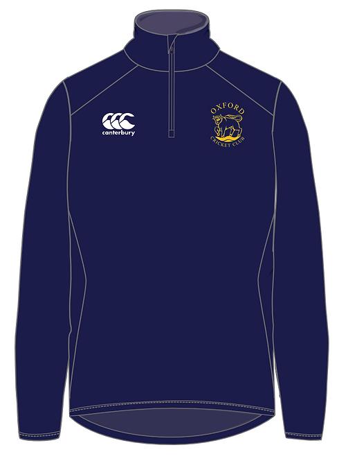 Oxford Cricket Club Senior Quarter Zip Fleece