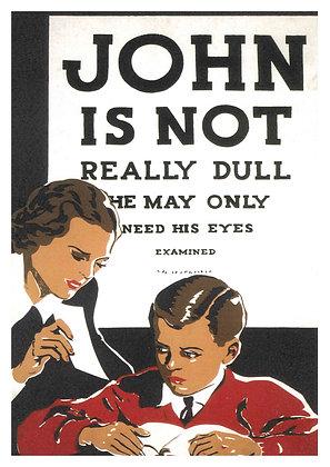 American Eye Examination Advertisement