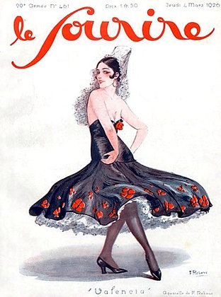 Vintage French Magazine Cover