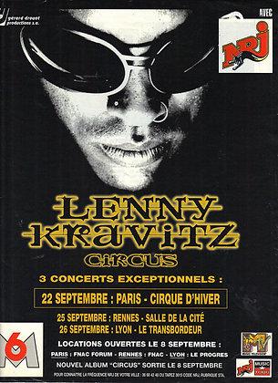 Vintage French Concert Advertisement