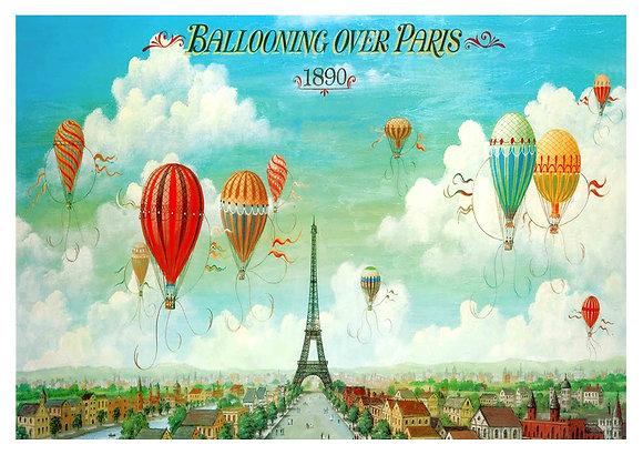 French Travel Advertisement