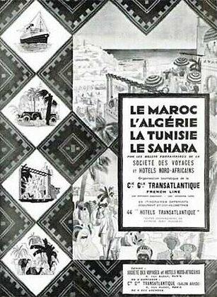 Vintage French Magazine Advertisement