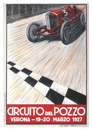 Italian Motor Racing Advertisement