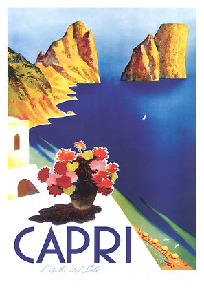 Italian Travel Advertisement