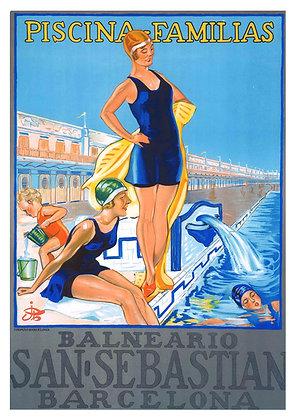 Spanish Travel Advertisement