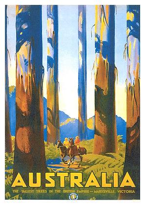 Australian Travel Advertisement